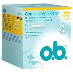 Тампоны o.b. Compact Applicator Normal