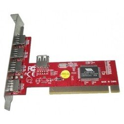 Контроллер PCI USB 2.0 (4+1)port VIA6212 bulk