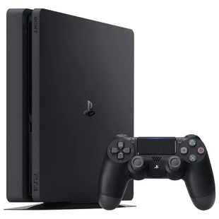 Sony PlayStation 4 Slim 1ТБ + DG + GTAV + HZD + FT + PSN 3мес (черный)
