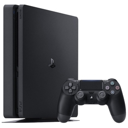 Sony PlayStation 4 Slim 500 Гб CUH-2008A + PlayStation Plus на 3-месяца + игры: Driveclub, Horizon Zero Dawn, Ratchet&Clank (черный)